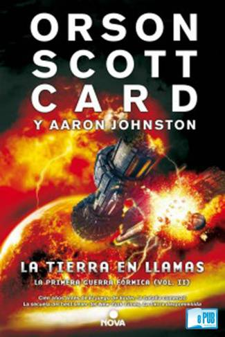 La tierra en llamas (PDF) -Aaron Johnston · Orson Scott Card